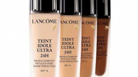 Review. Fond de ten Teint Idole Ultra Wear 24 h de la Lancome! Are cu adevărat putere mare de acoperire?