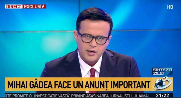 Mihai Gâdea rupe tăcerea: mai revine la Antena3? Ce s-a întâmplat în compania media pe care o conduce