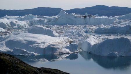 Schimbare climatica: Topirea gheții din Groelanda accelerează