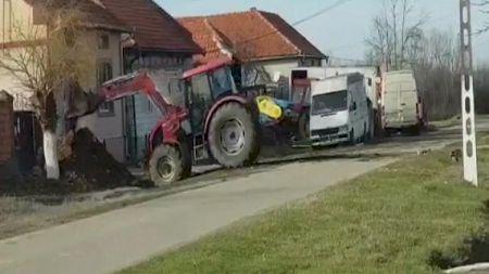 Gestul șocant făcut de un primar din România! A intrat peste un om cu excavatorul. Ce s-a întâmplat apoi