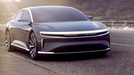 Modelul cel mai așteptat din 2020! Lucid Air, combinația fatală de pe șosele: Mașina de 1000 CP