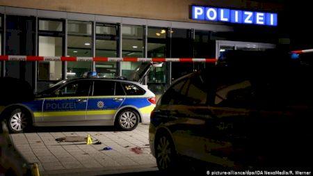 Poliția germană a împușcat mortal un bărbat ce a încercat să îi atace cu cuțitul