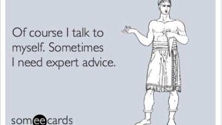 Și tu vorbești singur? Specialiștii au răspunsul! Cât ești de normal?