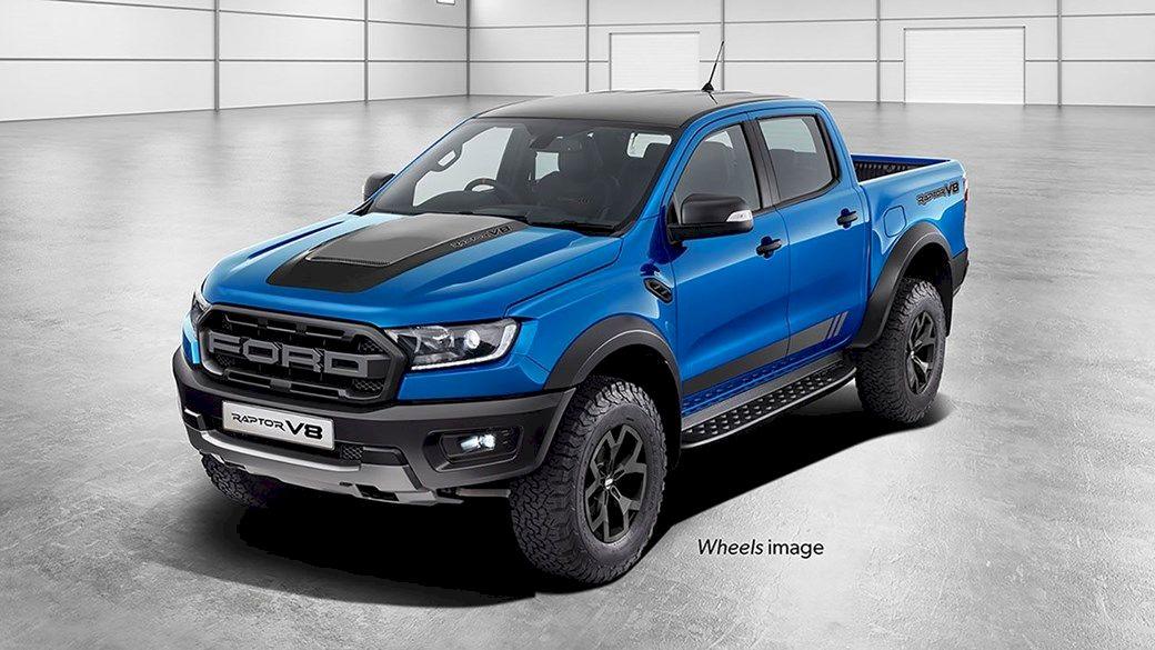 Noul Ford Ranger Raptor 2020 V8 - cu putere de Mustang