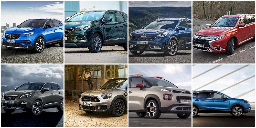 Cele mai economice SUV-uri, crossovere și vehicule 4x4