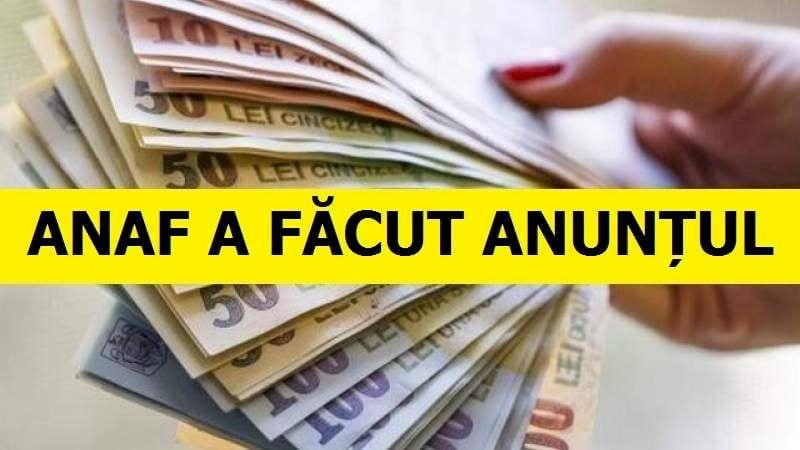 ANAF a făcut anunţul! Măsurile intra în vigoare pe 27 martie! Avertisment pentru toţi românii