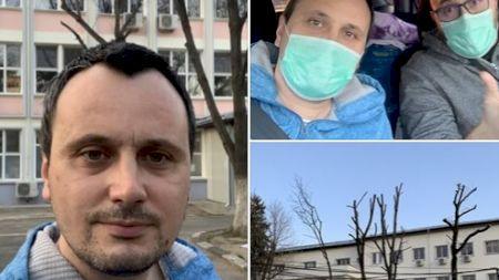 Avertismentul pacientului român vindecat de coronavirus! Ce le-a transmis românilor după ce a ieșit din spital