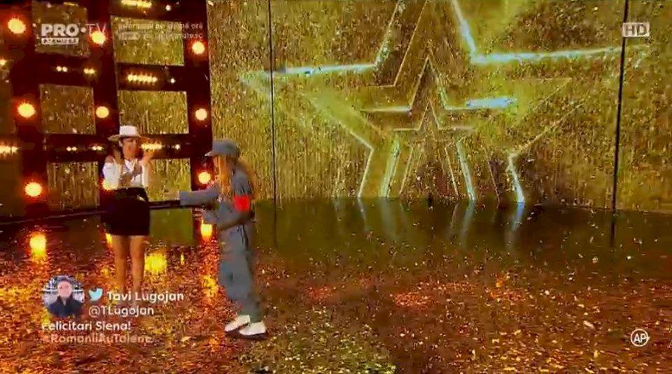 VIDEO. Cine este Siena Vuşcan, fetiţa care a uimit la Românii au talent! Golden Buzz oferit de Andra