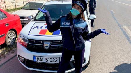 Jos pălăria! A renunţat la gimnastică şi a intrat în poliţie pe timp de criză! Gest uimitor al unei multiple campioane din România