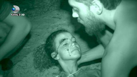 Scene de coșmar la Survivor România! Ce a pățit Ema. Toți concurenții în lacrimi