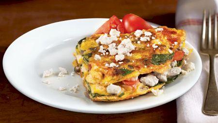 Rețeta pentru cea mai bună omletă grecească. Ingredientele care o fac speciala.E gata în cinci minute