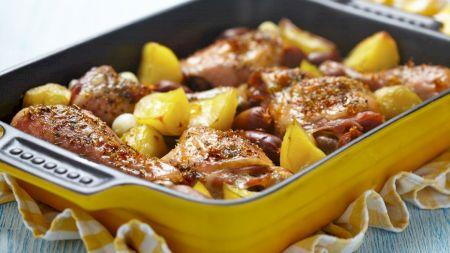Cele mai fragede și super delicioase pulpe de pui. Rețeta spaniolă. Ai nevoie de un ingredient tradițional