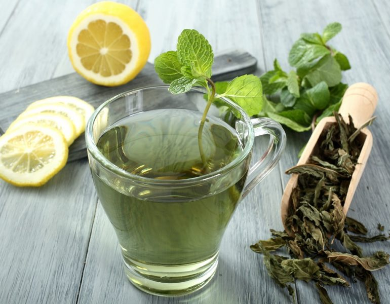 cura de slabire cu ceai verde)