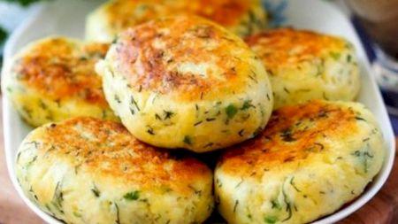 Cele mai gustoase chifteluțe de cartofi. Rețeta de post. E gata în doar câteva minute