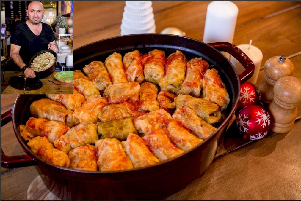 Cea mai delicioasă rețetă de sarmale: Chef Cătălin Scărlătescu și-a dezvăluit rețeta secretă. Care este ingredientul care face diferența