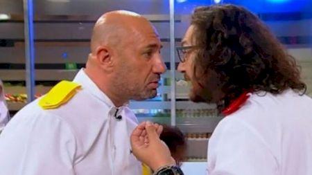 """Scandal uriaș: Chef Scărlătescu și Chef Florin Dumitrescu s-au luat la trântă în direct la """"Chefi la cuțite"""": Din momentul ăsta, nu mai există pentru mine"""