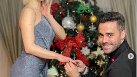Cine va fi nașa de nuntă a Sandrei Izbașa și a lui Răzvan Bănică! Nu este o sportivă, ci o cântăreață celebră