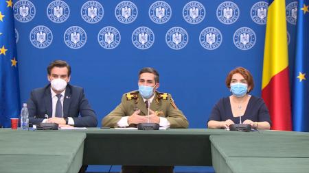 Câte milioane de români trebuie să fie vaccinați pentru a se putea renunța complet la mască? Medicul Valeriu Gheorghiță a dat răspunsul oficial