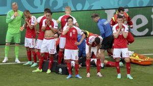 ULTIMA ORĂ! Care este starea de sănătate a lui Christian Eriksen, jucătorul danez prăbușit pe teren în timpul meciului Danemarca – Finalnda de la EURO 2020