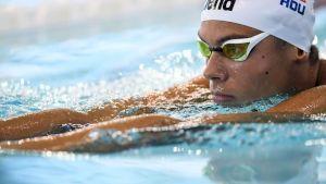 Ce a transmis David Popovici la scurt timp după ce a pierdut medalia de bronz la doar două sutimi în proma de 200 de metri liber