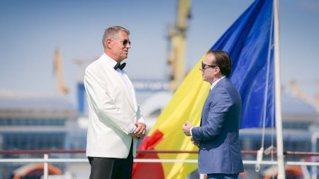 Ce înălțime are cu adevărat Florin Cîțu? Este cu mult mai scund decât președintele Klaus Iohannis