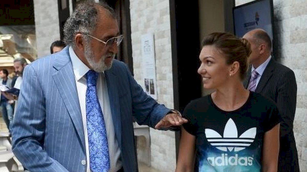 Simona Halep rupe tăcerea! Cât de bolnav este Ion Țiriac și ce relație are acum cu el, după ce nu a venit la nunta ei
